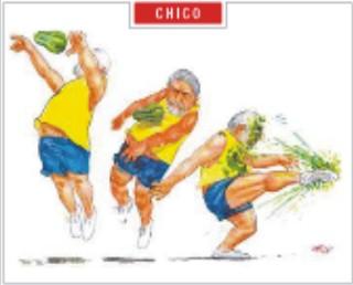 Charge do Chico, O Globo