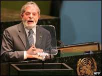 Lula na ONU, AFP, BBC