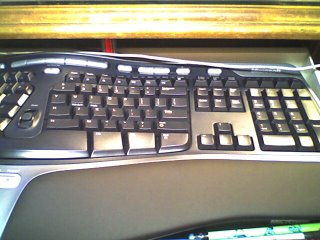 My shiny new keyboard!