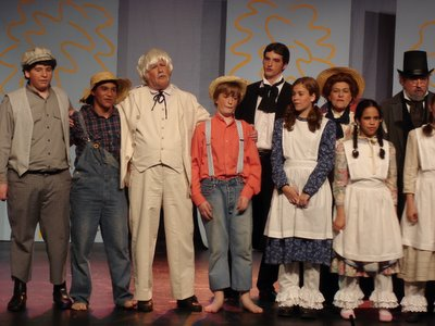 JEST's production of Tom Sawyer—curtain call