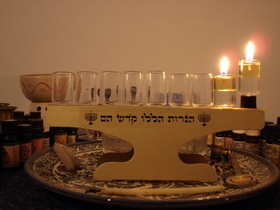 First night of Hanukkah 5766