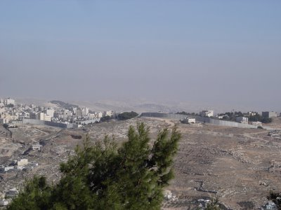 The Jerusalem barrier