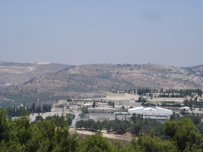 Northern Jerusalem view