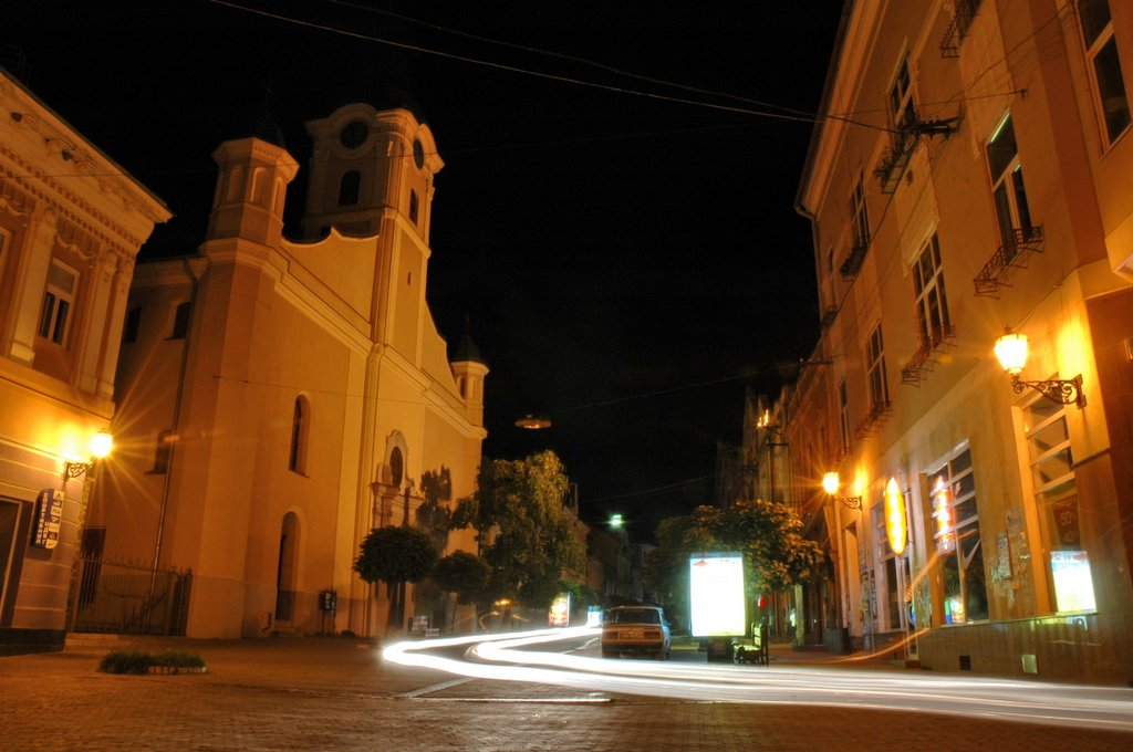 Картинки по Ðапросу ужгород ночью
