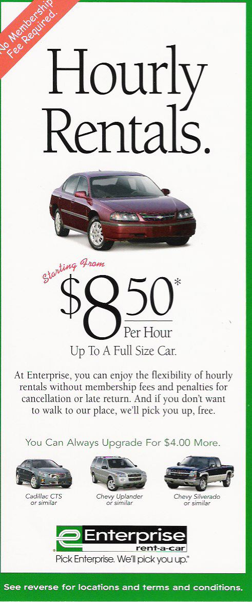 Hourly Car Rental >> Carsharing Us Enterprise Tests Hourly Car Rental But Is It