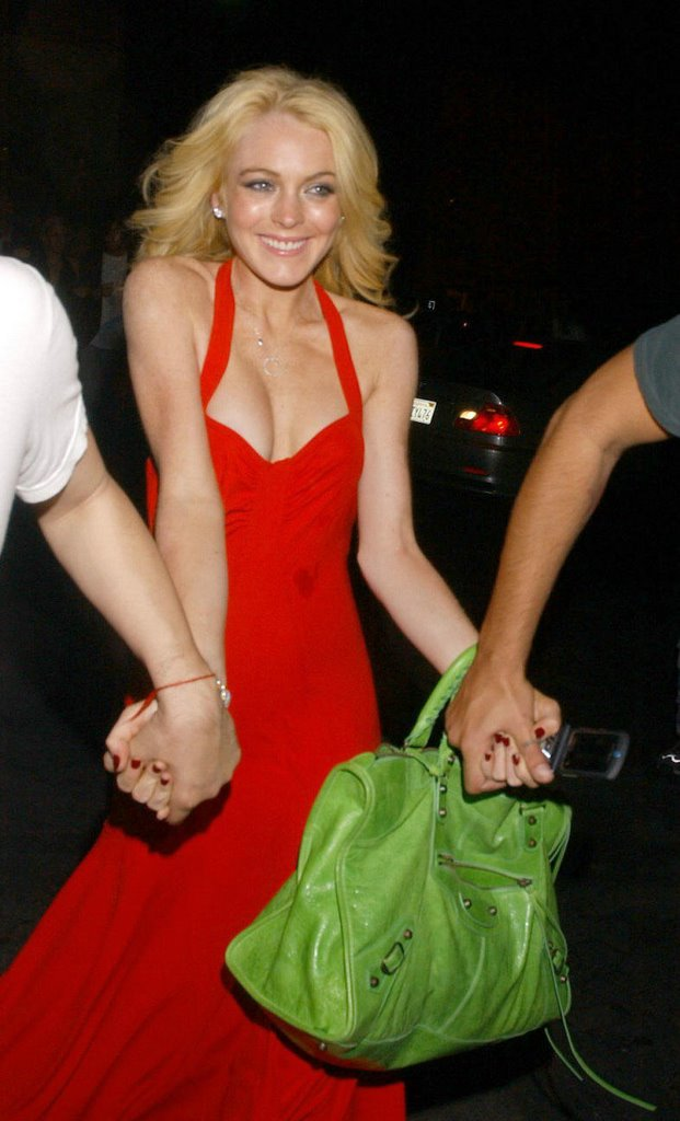 Fashion Addicted: Lindsay Lohan leaves Spider Club after ...