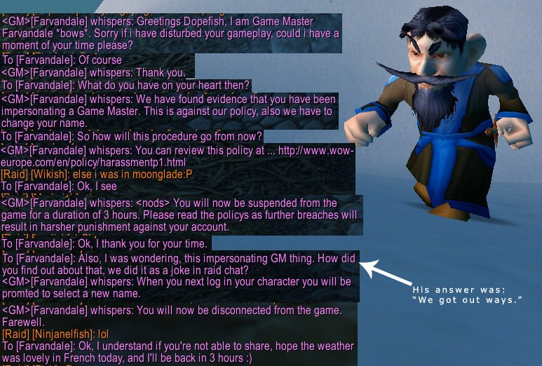 World of warcraft sex chat