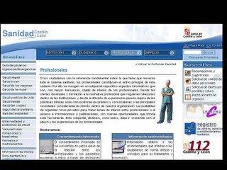 Portal de sanidad JCyL