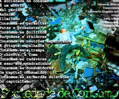 Sociedade de Consumo (fotomontagem)
