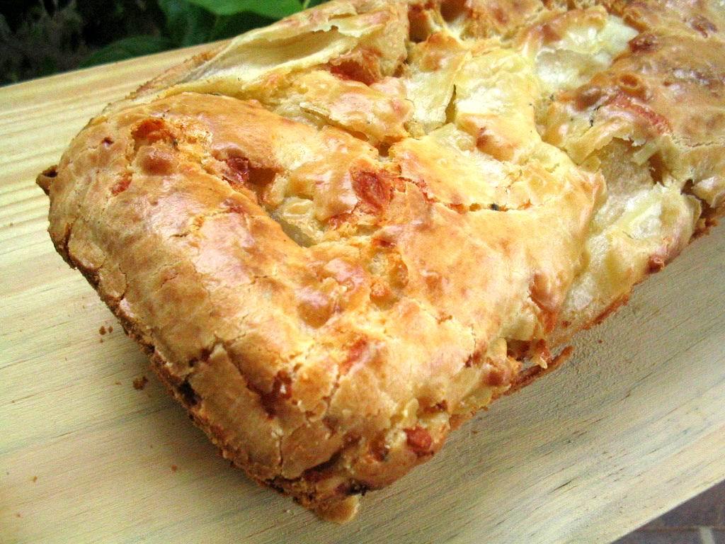 Cake Sal Ef Bf Bd Roquefort Lardons