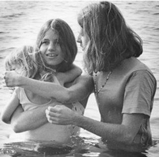 Lonnie baptizing.