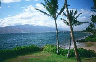 Pu'u Kukui from Kihei, Maui, Sep. 2003 (Original)
