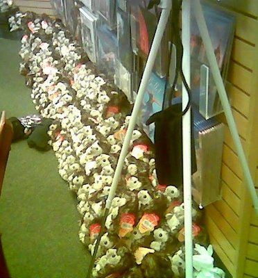 Jan Brett's Undead Hedgehog Army of Cuteness