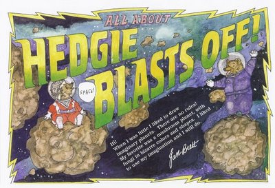Brochure: About _Hedgie Blasts Off_