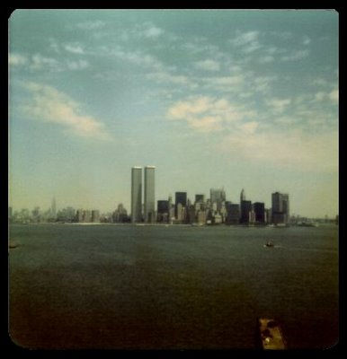 Manhattan from Liberty Island, Summer 1975