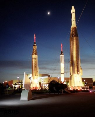 Rocket Garden, Kennedy Space Center, Nov. 2004
