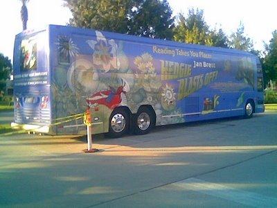 _Hedgie Blasts Off_ tour bus
