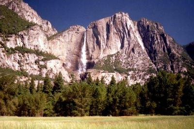 Yosemite Falls, Aug. 1995