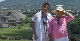 Gurumay GG:: y la Hermana SILVIA, esposa del Guru Ji Ahmed Lic. Dino De Labra
