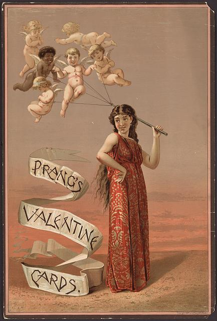 Valentine cards, Credit Line: Library of Congress, Prints and Photographs Division [reproduction number, LC-DIG-ppmsca-09465]