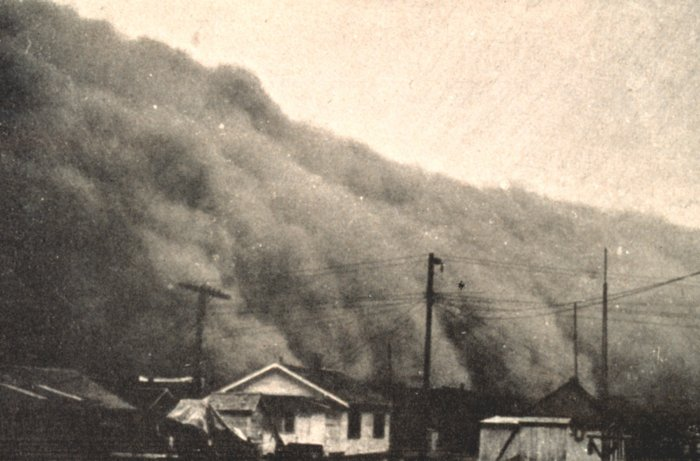 climate and the dust bowl And what it teaches us about future climate catastrophes.