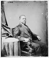TITLE:  Hiram R. Revels of Miss., REPRODUCTION NUMBER:  LC-DIG-cwpbh-00554, Library of Congress, Prints & Photographs Division