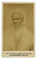 Sojourner Truth, REPRODUCTION NUMBER:  LC-DIG-ppmsca-08979, Library of Congress Prints and Photographs Division