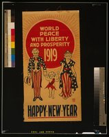 New Year 1919. Library of Congress Prints and Photographs Division REPRODUCTION NUMBER: LC-USZC4-10654