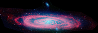 Target Name: Messier 31, Mission: Spitzer Space Telescope (SST), Spacecraft: Spitzer Space Telescope (SST), Instrument: Infrared Array Camera (IRAC)
