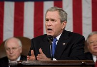 President George W. Bush delivers his State of the Union Address at the Capitol, Tuesday, Jan. 31, 2006. White House photo by Eric Draper.