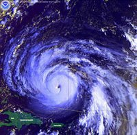 Hurricane Floyd Satellite Image, Photo courtesy of NOAA/NCEP