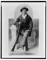 Martha Canary, 1852-1903, Calamity Jane, REPRODUCTION NUMBER:  LC-USZ62-50004, Library of Congress, Prints and Photographs Division