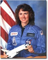 S. CHRISTA CORRIGAN MCAULIFFE TEACHER IN SPACE PARTICIPANT