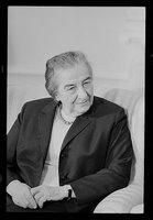Golda Meir, CALL NUMBER: USN&WR COLL - Job no. 27286, frame 5 [P and P], REPRODUCTION NUMBER: LC-U9-27286-5 (b and w film neg.), No known restrictions on publication