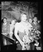 Marian Anderson mural dedicated, Library of Congress, Prints and Photographs Division, REPRODUCTION NUMBER: LC-USE6-D-007911