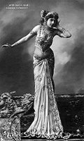 Mata Hari, The two-dimensional work of art depicted in this image is in the public domain in the United States and in those countries with a copyright term of life of the author plus 100 years. This photograph of the work is also in the public domain in the United States (see Bridgeman Art Library v. Corel Corp.)