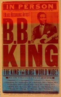 B.B. King Tour Poster