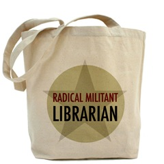 Librarian Avengers Radical Militant Librarian Tote Bag
