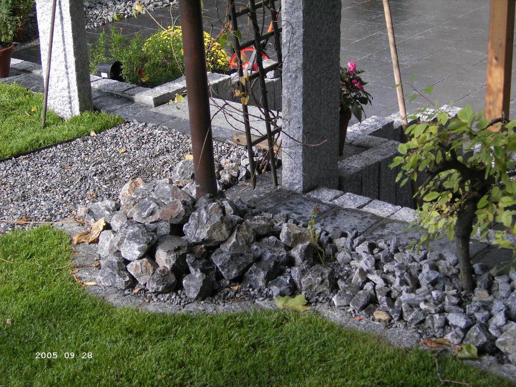 aktuelle projekte: august 2006, Hause und Garten