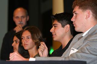 Stephen Sroka's panel of student experts