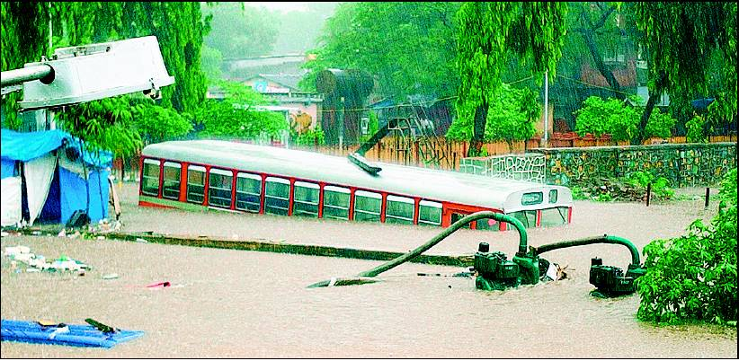 3rd Black Anniversary of 26/7 Mumbai Floods.