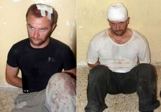 British operatives caught in Basra
