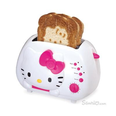 Hello Kitty! Toaster with Toast!
