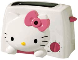 The Hello Kitty! Toaster