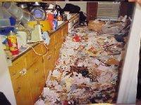 Disposophobia  - The fear of getting rid of stuff.