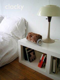 Alarm clock that hides