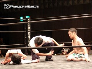 Japanese Handicapped Pro-Wrestling