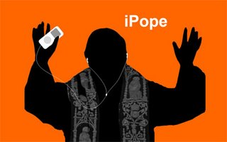 Even the Pope has an iPod?!