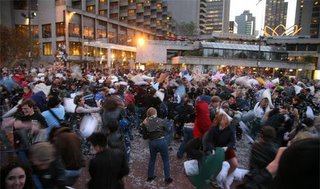 Biggest Pillow Fight Ever