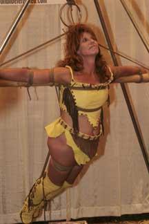 American bondage woman